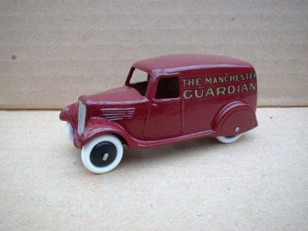 "A DINKY TOYS COPY MODEL 28 SERIES TYPE 2 DELIVERY VAN ""MANCHESTER GAURDIAN"""